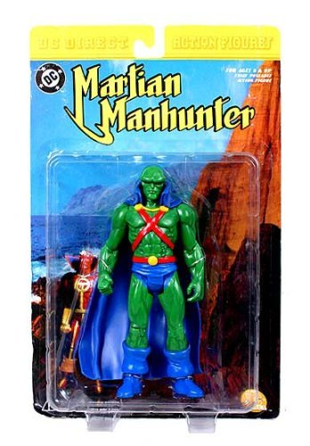 Martian Manhunter Action Figure (NM Package) by DC (Dc Direct Martian Manhunter)