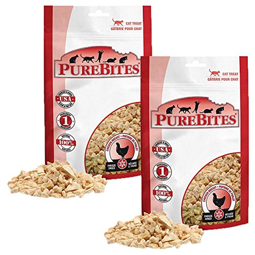 PureBites Chicken Breast Freeze-Dried Treats for Cats