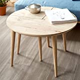 Tea side sofa end side snack coffee table leisure wood nesting corner table office living room waiting room balcony modern deluxe chic style -A