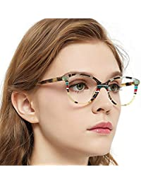 ebc443d097276 Womens Gorgeous Oval Stripe Pattern Non-Prescription Eyewear Frames For  Elegant Lady