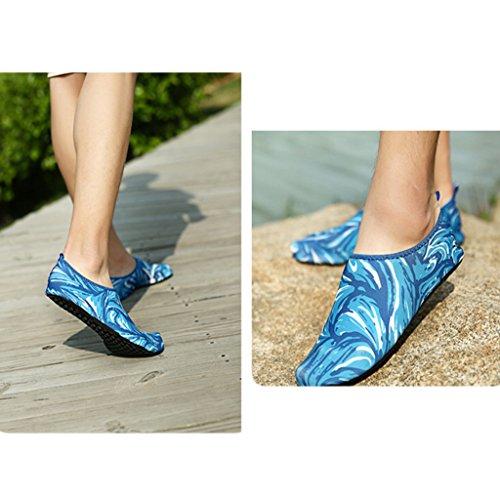 Zapatos Eagsouni® Natación Aqua Agua Calcetines Deportivos Shoes Buceo Para Aguamarina Surf Descalzo 1azul De Playa B4d4wq