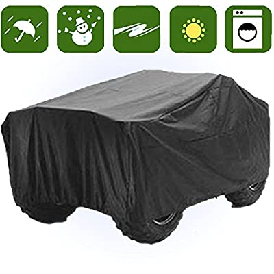 RockyMRanger ATV COVER Universal Quad Storage Protection Waterproof For Honda Polaris Yamaha Suzuki YABTV