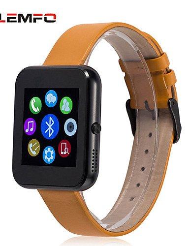 Lemfo lf09 bluetooth-Reloj inteligente para smartwatch Muñeca apk apple ios y Android hombres Reloj de pulsera deportivo femenino: Amazon.es: Relojes