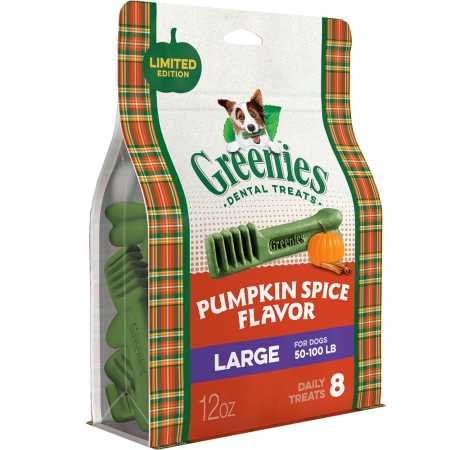 Large Greenies Pumpkin Spice Flavor Large (8 Count)