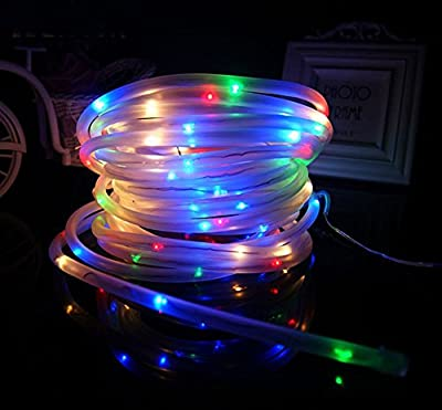 Solar LED Rope Lights, Ksleder® 5m 50LED / 10m 100LED Waterproof Fairy String Outdoor Decoration Lighting, for Garden Home Walkway Deck Step Holiday Christmas Wedding Party Effect Light