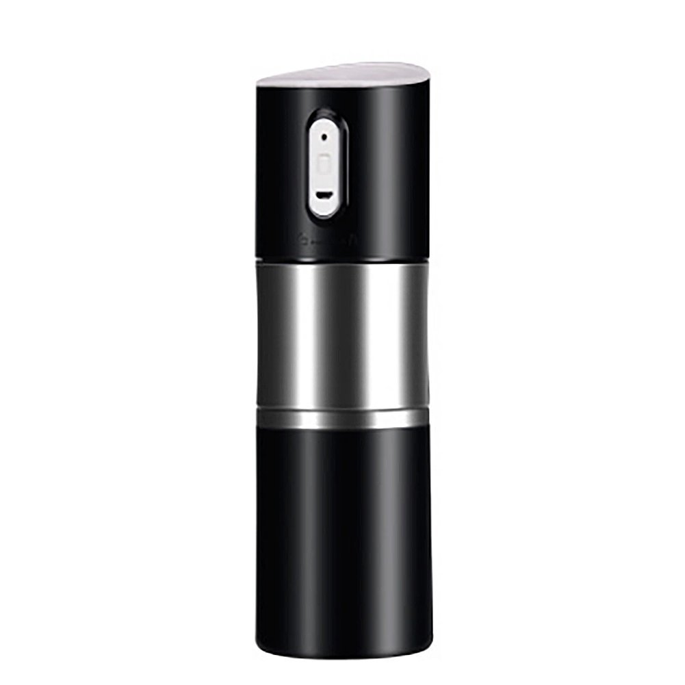 Mini Stainless Steel Portable Coffee Grinder USB Charging Automatic Espresso Maker for Home,Office,Travel,Outdoor black