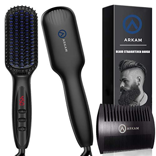 Arkam Beard Straightener for black men