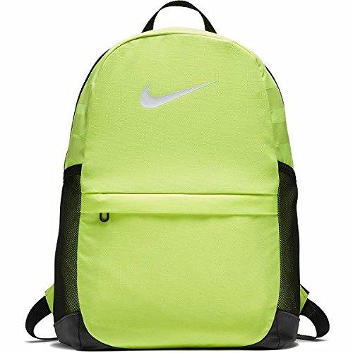 Nike Brasilia (Medium) Training Backpack, Volt/Black/White