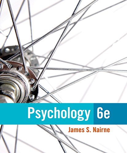 Nairne's Psychology, 6th Edition plus 6-months instant access to MindTapTM Psychology. Pdf