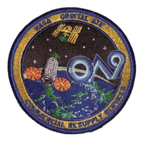 Used, NASA CRS OA Orbital 9 Patch for sale  Delivered anywhere in USA