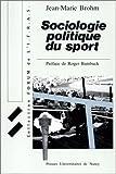 Sociologie politique du sport