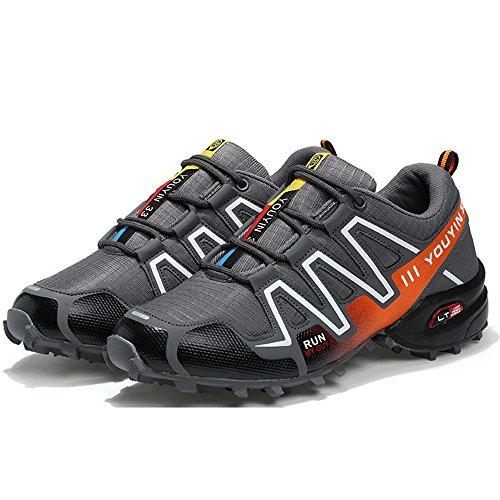 per Orange il Tacco libero Grey 42 Blu shoes scarpe scuro Color atletico Dimensione piatto sportive EU sportivo e uomo tacco tempo con da Xiaojuan g7qOxwZC
