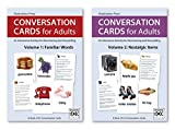 Conversation Cards – Familiar Words & Nostalgic Items – Reminiscence Activity for Alzheimer's / Dementia / Memory Loss Patients and Caregivers