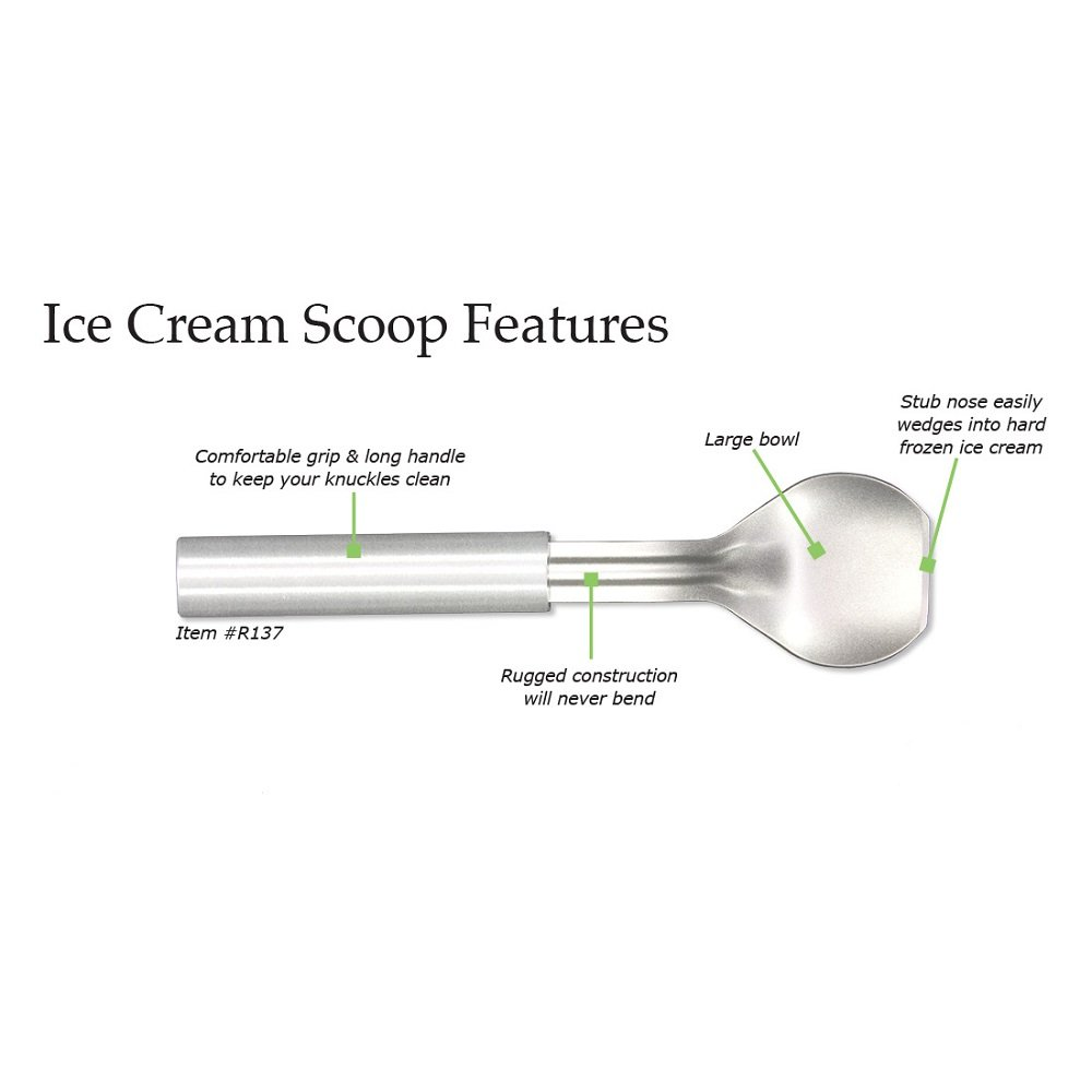 amazon com rada cutlery r137 ice cream scoop rada knives