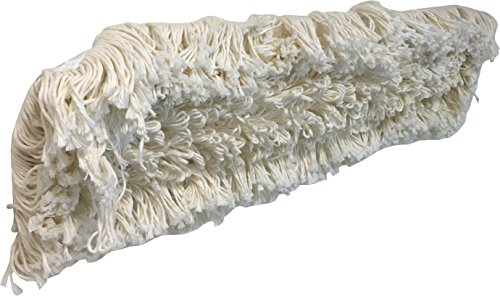 Industrial   Commercial Strength Performance Cotton Dust Mop Broom 24''x5'' Head with Aluminum Handle Quick Change Extension Handle and Frame by Unique Imports (Image #3)