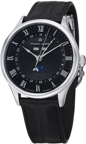 Maurice Lacroix Masterpiece Tradition Men's Moonphase Automatic Watch MP6607-SS001-310