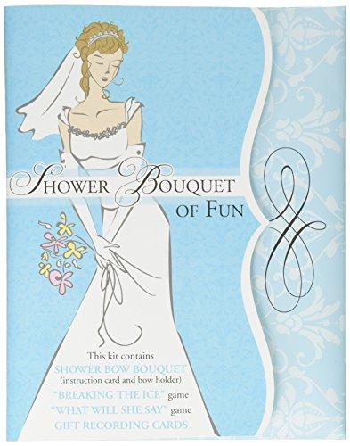 Lillian Rose Bridal Shower Bouquet of Fun Game Kit ()