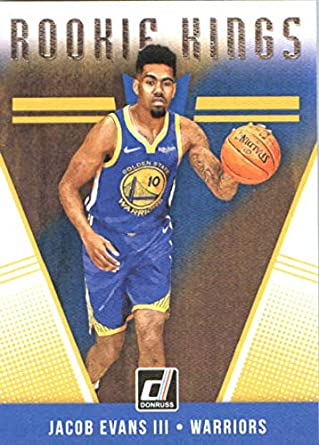 2018-19 Donruss Rookie Kings  25 Jacob Evans III Golden State Warriors  Basketball Card 0ea8372d1