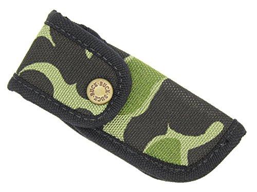 - Buck USA 422 442 484 532 500 112 Ranger Bucklite Camo Cordura Nylon 4.25 Inch Folding Hunter Knife Sheath
