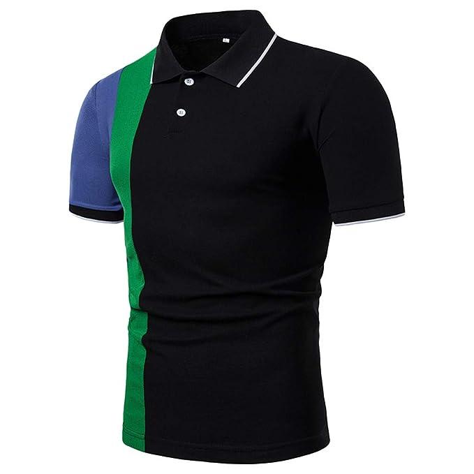 GODRESS Camiseta de Playa para Hombre Impreso Cuello Redondo ...