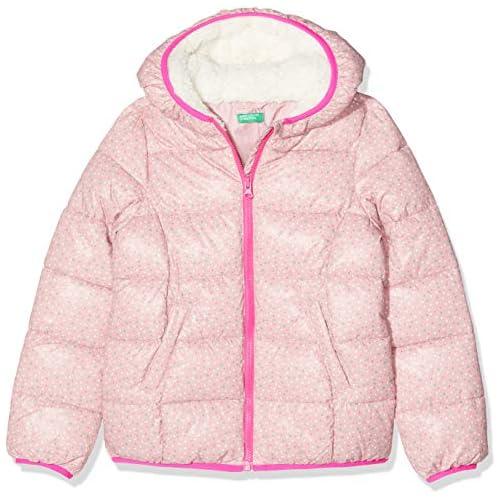 chollos oferta descuentos barato United Colors of Benetton Prg C Spalla G4 Abrigo Multicolor Rosa All Over 70a 82 Talla del Fabricante 1Y para Niñas