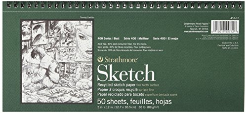Strathmore 400 Series Recycled Sketch Pad, 5