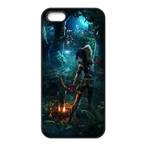 Lara Croft Tomb Raider Game iPhone5s Cell Phone Case Black gife pp001_9316339