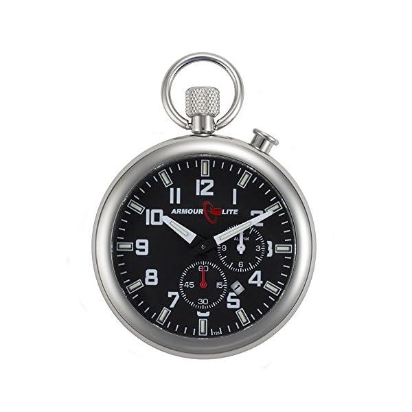 Black-Dial-Alarm-Clock-Tritium-Pocket-Watch-by-Armourlite