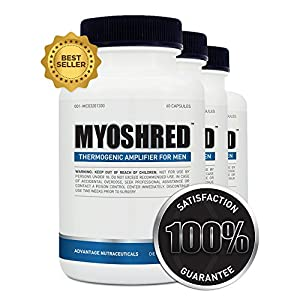 Myoshred - Best All Natural Supplement To Burn Fat And Build Muscle - Top Diet Pill For Men - Gain Muscle Fast And Maximize Your Workout by Myoshred