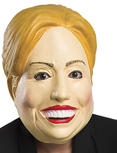 Company Costumes Ruby (Rubies Costume Company 33973 Deleter of the Free World Latex Mask and Party Decor, Hillary)