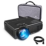 VANKYO Leisure 3 (Upgraded Version) LED Portable Projector with Carrying Bag, Compatible with...