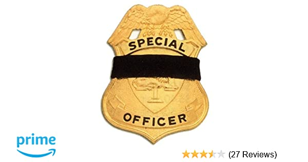 4ac399cebf107 Black Elastic Badge Shield Mourning Band One Size Fits All 1 2