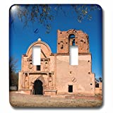 Danita Delimont - Church - Arizona, Tumacacori National Historic Park, Morning in the park - Light Switch Covers - double toggle switch (lsp_229740_2)