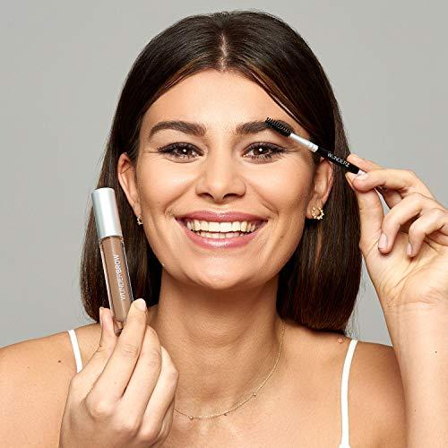 WUNDER2 WUNDERBROW Waterproof Eyebrow Gel for Long Lasting Makeup Jet Black