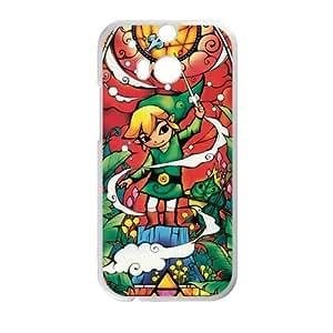 Cartoon Pattern The Legend of Zelda for HTC One M8 Case