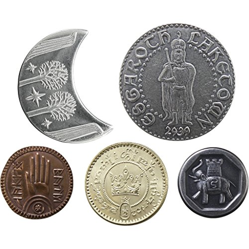 The Lord of The Rings Set #2 - Middle-Earth Set of Five Coins
