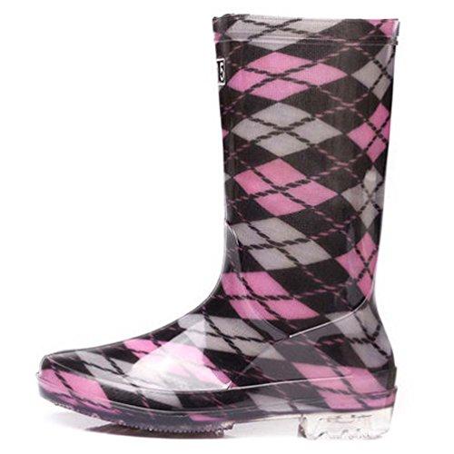Agua Rain Zapatos Impermeables Botas Lluvia Zapatos De De De Boots La Goma Summer Mujeres Cubrezapatillas Sra Botas Agua Antideslizantes Para Adultos De 5qWHTf