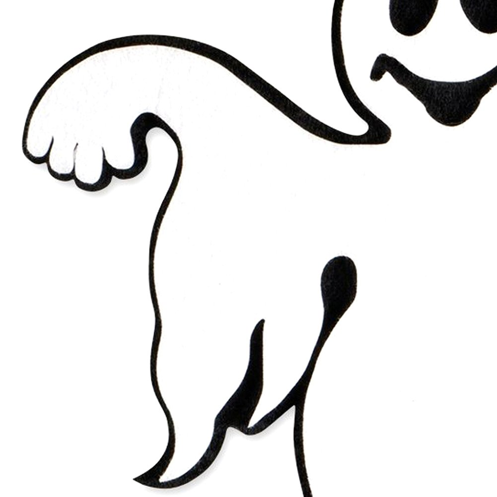 Shuohu Ghost Door and Wall Decorations Fashion Halloween Door Wall Ghost Hanging Party Home School Horror Decoration