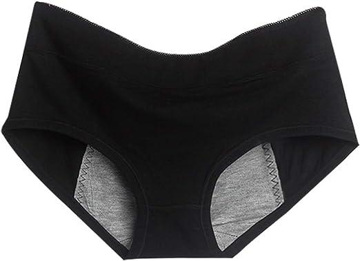 Kanggest.Braguita Mujer Estilo Bikini de Algodón Braguitas Culotte Algodón para Mujer Bragas de Cintura Baja Cómodo Faja Reductora Talla Ropa Interior(Negro): Amazon.es: Hogar