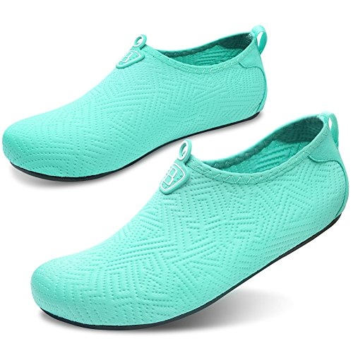 Beach Sports for Pool Barefoot Yoga Green Surf Quick Dry Aqua Shoes Barerun for Women Swim Socks Water Men Blue R8qxv
