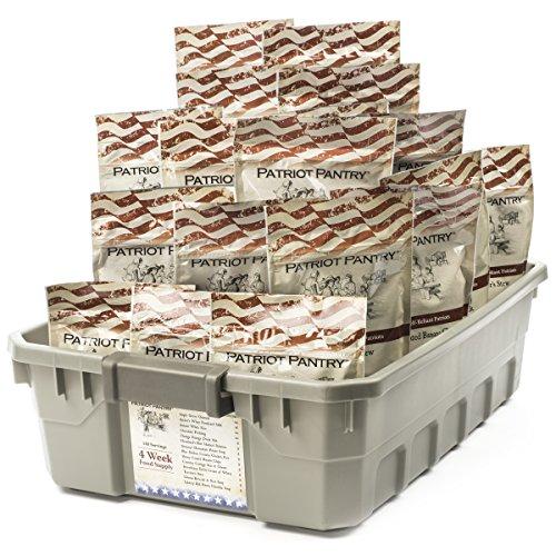 4-Week Emergency Food Supply – 140 Adult Servings