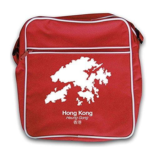 Silhouette Kong Bag Silhouette Red Hong Hong Flight Retro Red Kong 1wd4qOH1