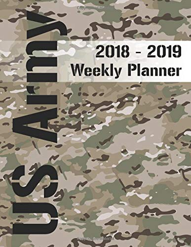 US Army 60 60 Weekly Planner Scorpion Operational Best Army Pattern