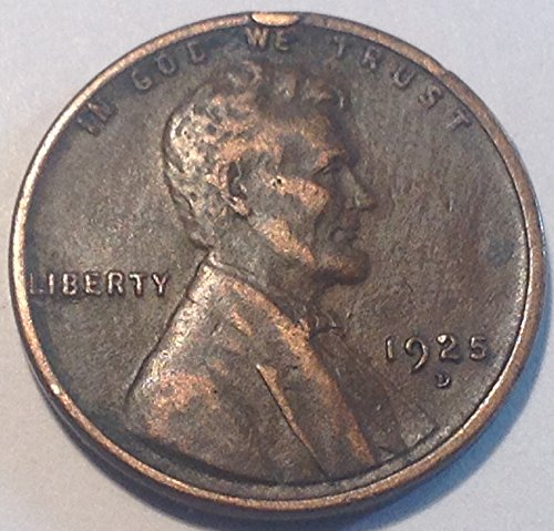 1925 D Lincoln Wheat Cent Penny Very Fine