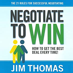 Negotiate to Win Audiobook