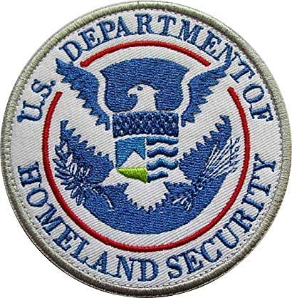"""Iron On Patch 3.5/"""" Novelty Patches /""""HOMELAND SECURITY/"""" To Protect and Serve"""