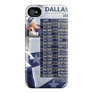 [Gwi3180tXkl]premium Phone Case For Iphone 4/4s/ Dallas Cowboys Tpu Case Cover
