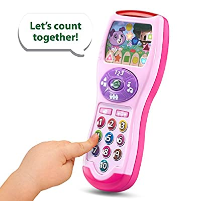 LeapFrog Violet's Learning Lights Remote - Online Exclusive Pink from LeapFrog