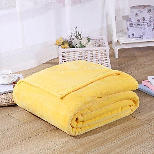Super Soft Velvet Plush Throw, Fleece Flannel Bed Couch Thro