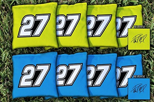 Victory Tailgate 8 NASCAR #27 Paul Menard Regulation Corn Filled Cornhole Bags by Victory Tailgate